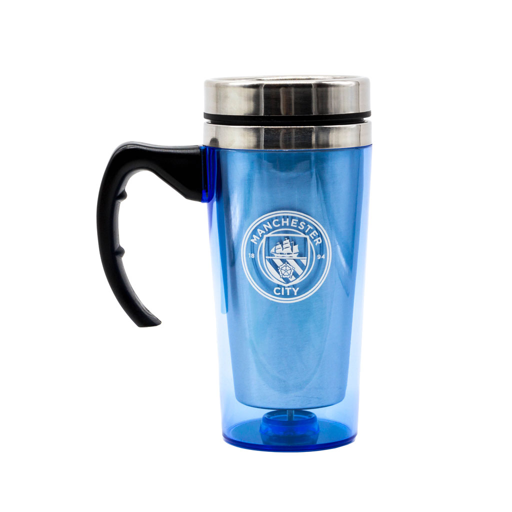 Manchester City Aluminium Travel Mug