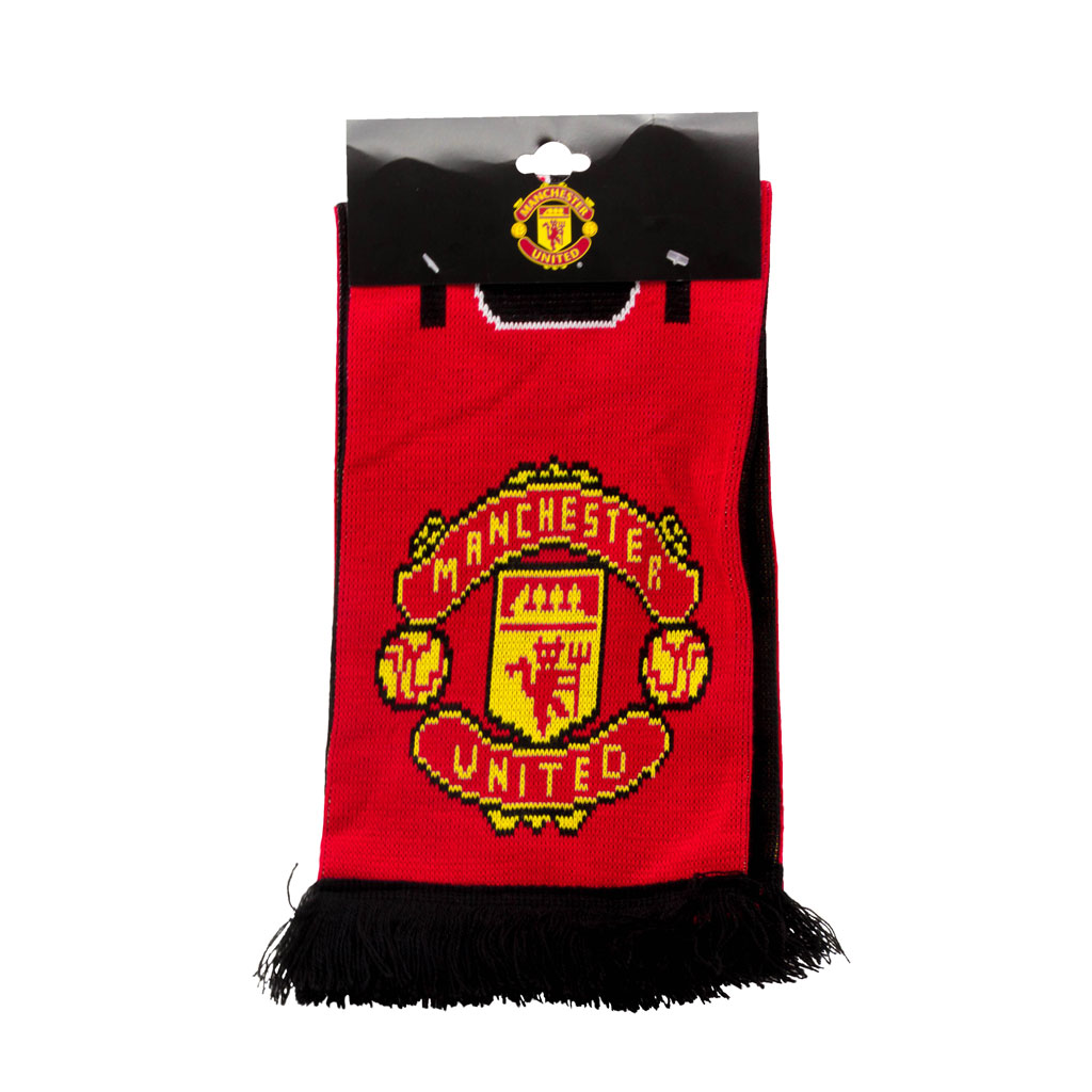 Manchester United Named Scarf