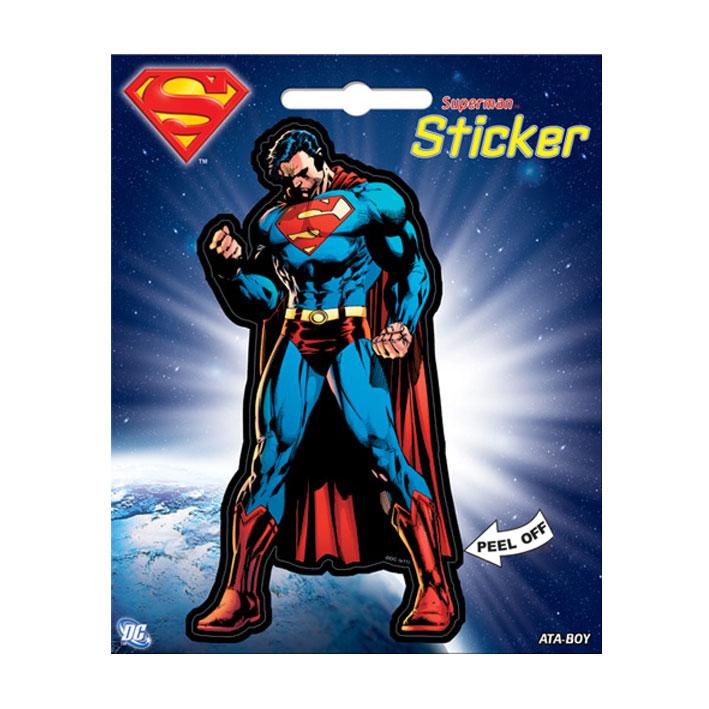 Superman Character peel off Sticker
