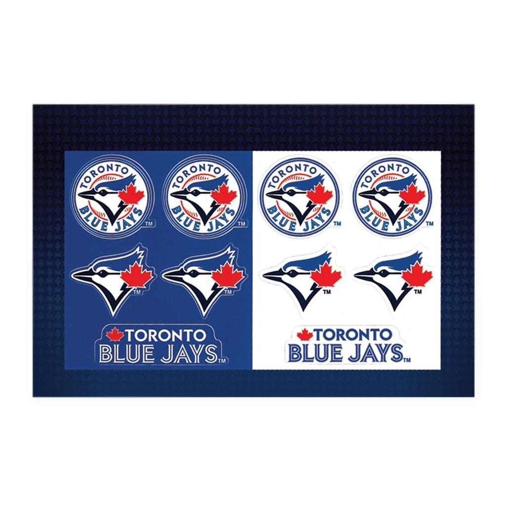 Toronto Blue Jays Team Sticker Sheet