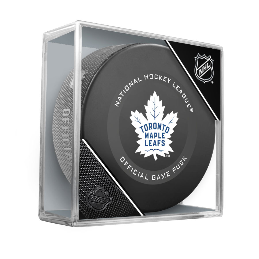 Toronto Maple Leafs Official NHL game Puck