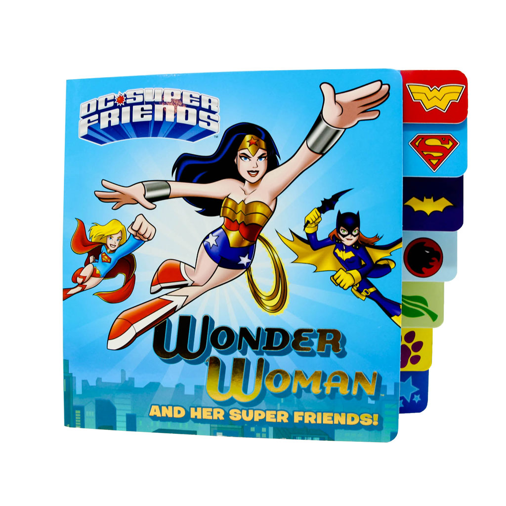 Wonder Woman and Her Super Friends Book