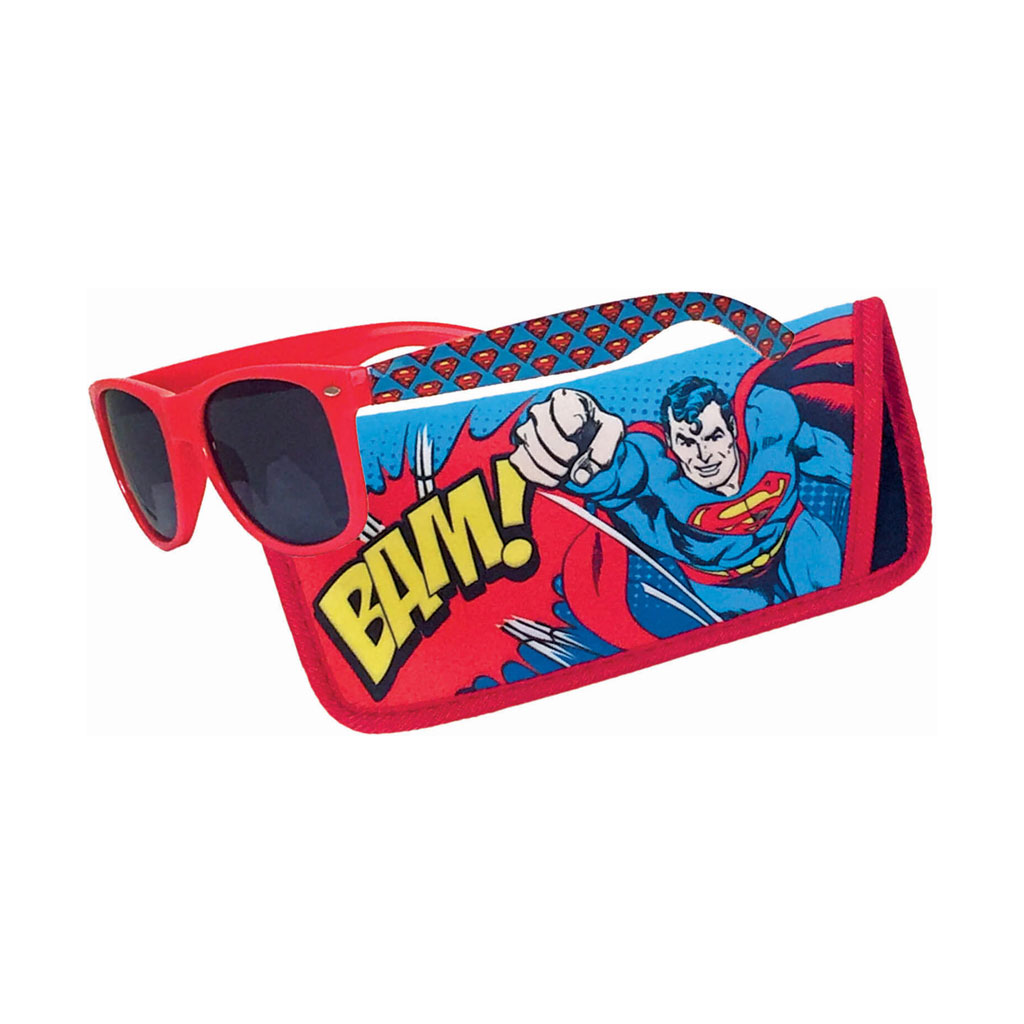 Superman kids Sunglasses with pouch