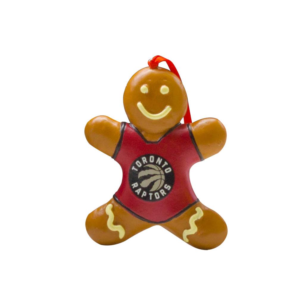 Toronto Raptors Gingerbread Ornament