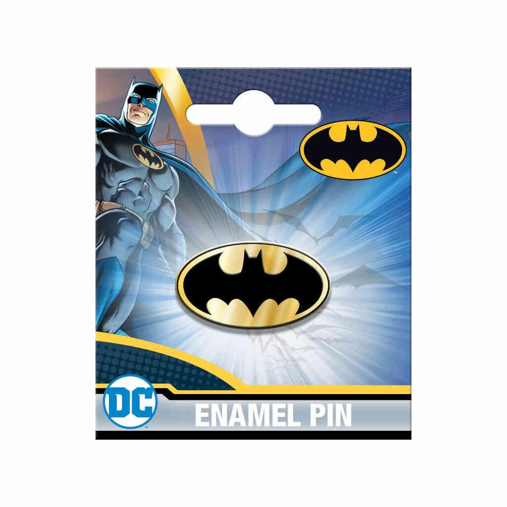 Batman Enamel Logo Pin