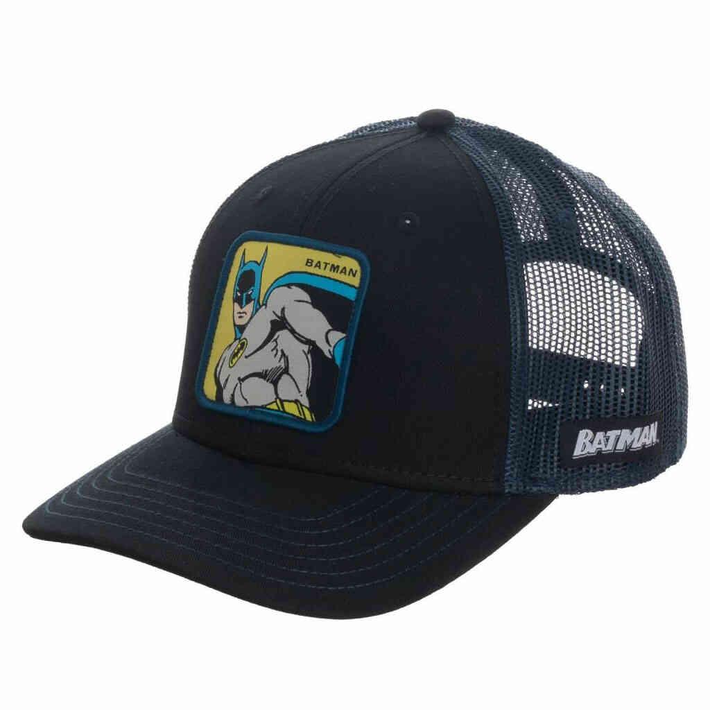 Batman Square Patch Trucker Hat
