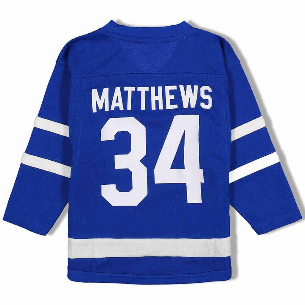 Maple Leafs Matthews Kids Jersey Back