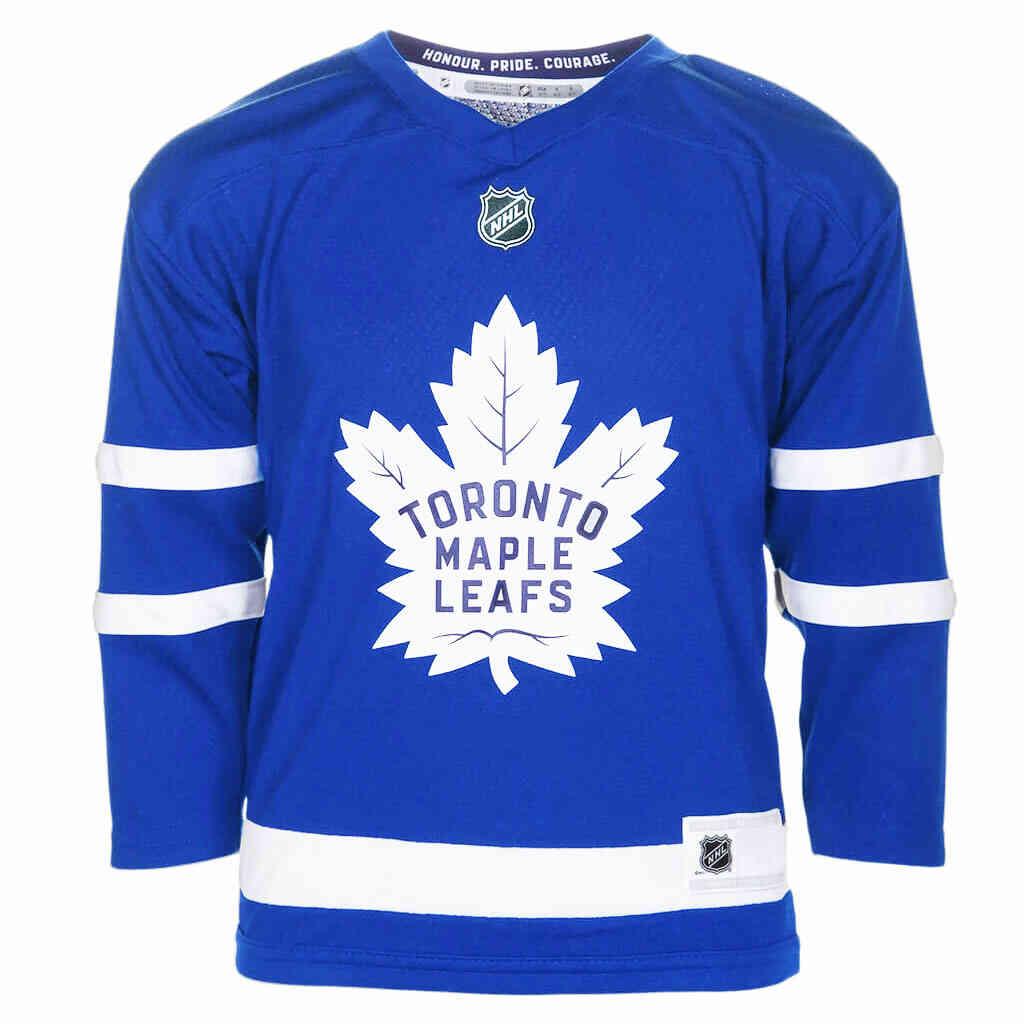 Maple Leafs Matthews Kids Jersey Front