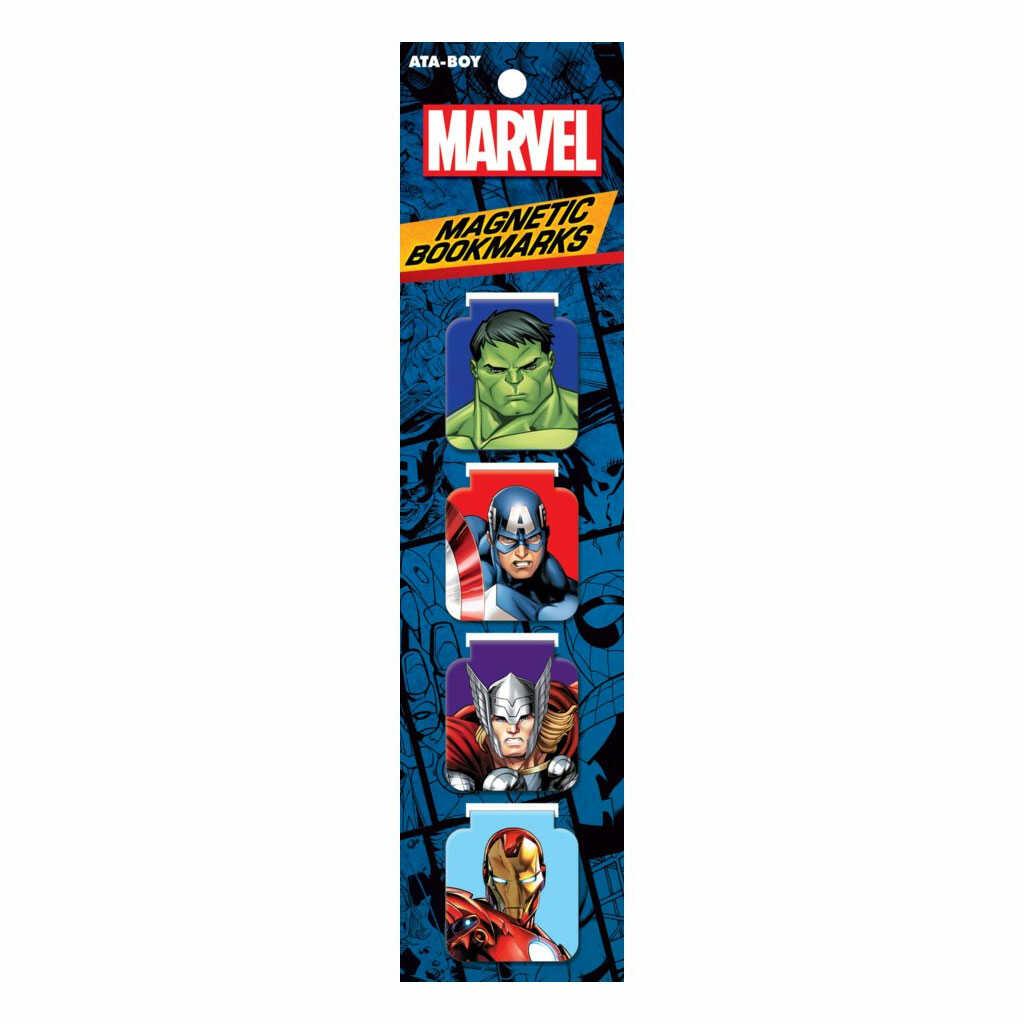 Marvel Avengers Magnetic Bookmarks Set of 4