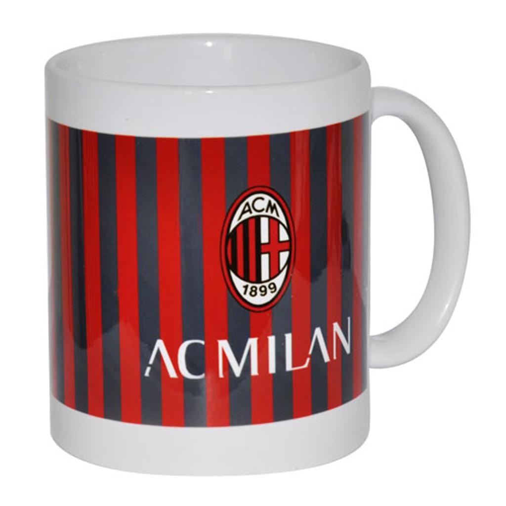 AC Milan Striped Ceramic Mug
