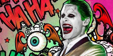 As we all know, Jared Leto will portray a very visually different Joker in Suicide Squad. With metal teeth, prominent tattoos and neon green hair, Leto is definitely making his own mark on the oft-portrayed character.