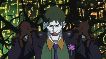 The Young Justice TV show was mostly about the younger generation of DC heroes and so did not feature much of the usual suspects. However the Joker did pop up for a cameo, voiced by Brent Spiner (Data off Star Trek).