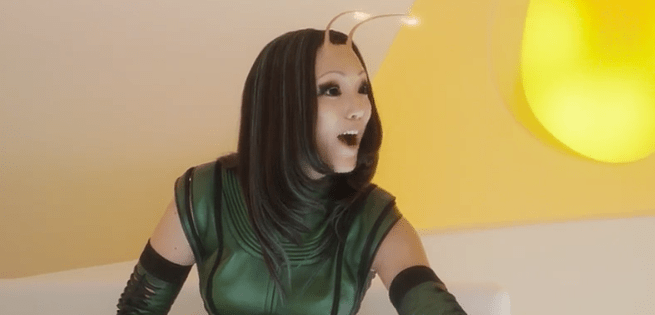 Mantis will also join the team's line-up in Vol.2, before reappearing in Infinity War.