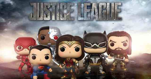 Justice League Pop Funko
