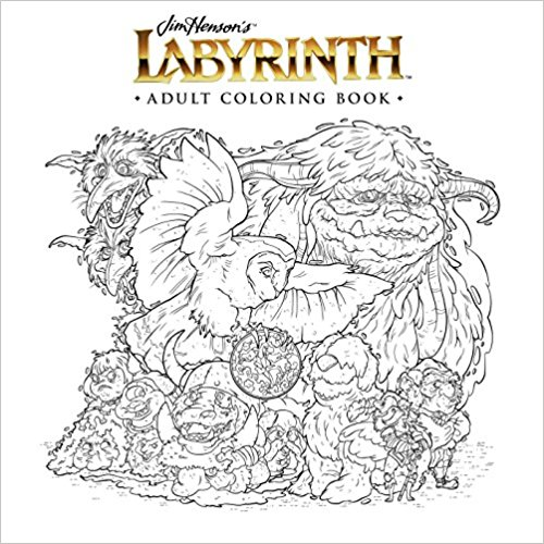 Labyrinth coloring book