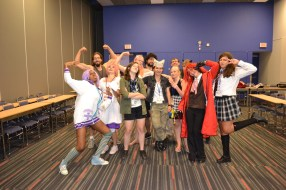I forgot to get a group shot at the end of the class but luckily these cool cats stuck around to help restore the panel room. You guys rocked!!