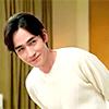 Zhu Yilong looking cheeky