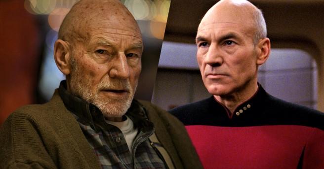 Patrick Stewart Shares Photo From New 'Star Trek' Series