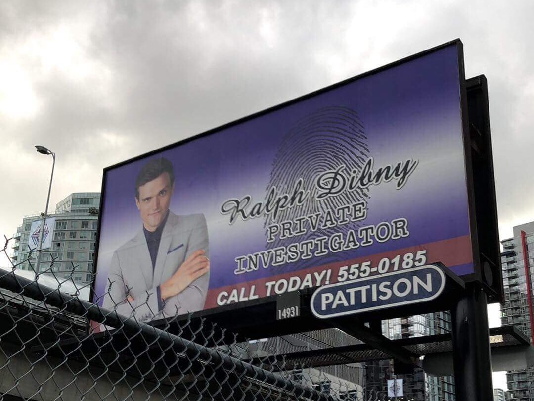 Ralph Dibny Featured In 'The Flash' Billboard