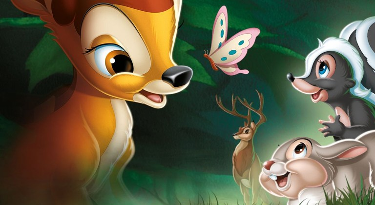 """""""Live Action"""" Bambi In Development At Disney"""