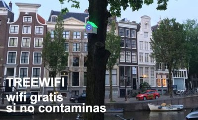 TreeWiFi en Ámsterdam