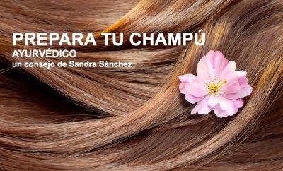 Limpieza y cuidado del cabello con polvos ayurvédicos