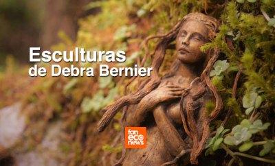 Esculturas de Debra Bernier