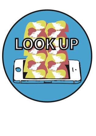 look up sticker copy