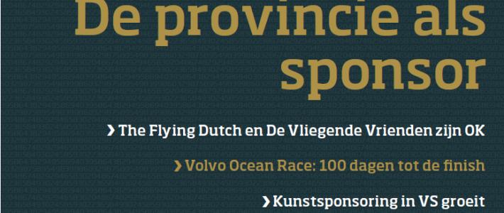 De provincie als sponsor