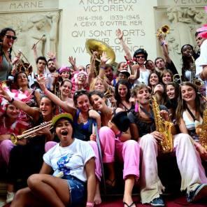 Les Makabés aux 20 ans de la Vaginale, fanfare de la faculté de Médecine de Tours