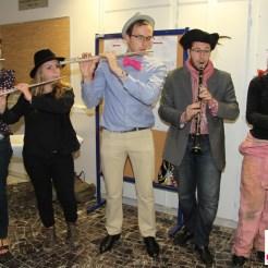 Des flûtes, des clarinettes mais surtout du talent !
