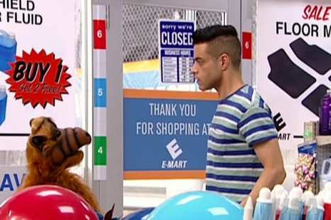 Mr. Robot and Alf