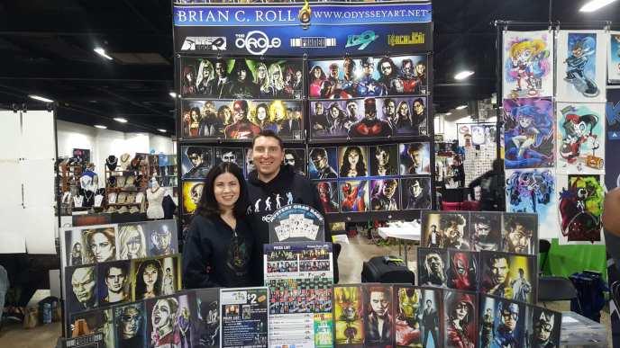 Brian C. Roll, Wife, The Great Philadelphia Comic Con 2017