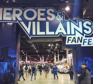 Heroes and Villains Fan Fest Chicago 2017