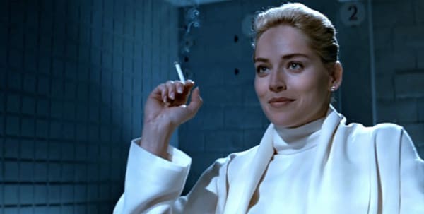 Image result for sharon stone in basic instinct