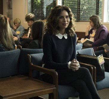 """SPEECHLESS - """"ONE A-N-- ANGRY M-- MAYA"""" The ABC Television Network. (ABC/Richard Cartwright) MINNIE DRIVER"""
