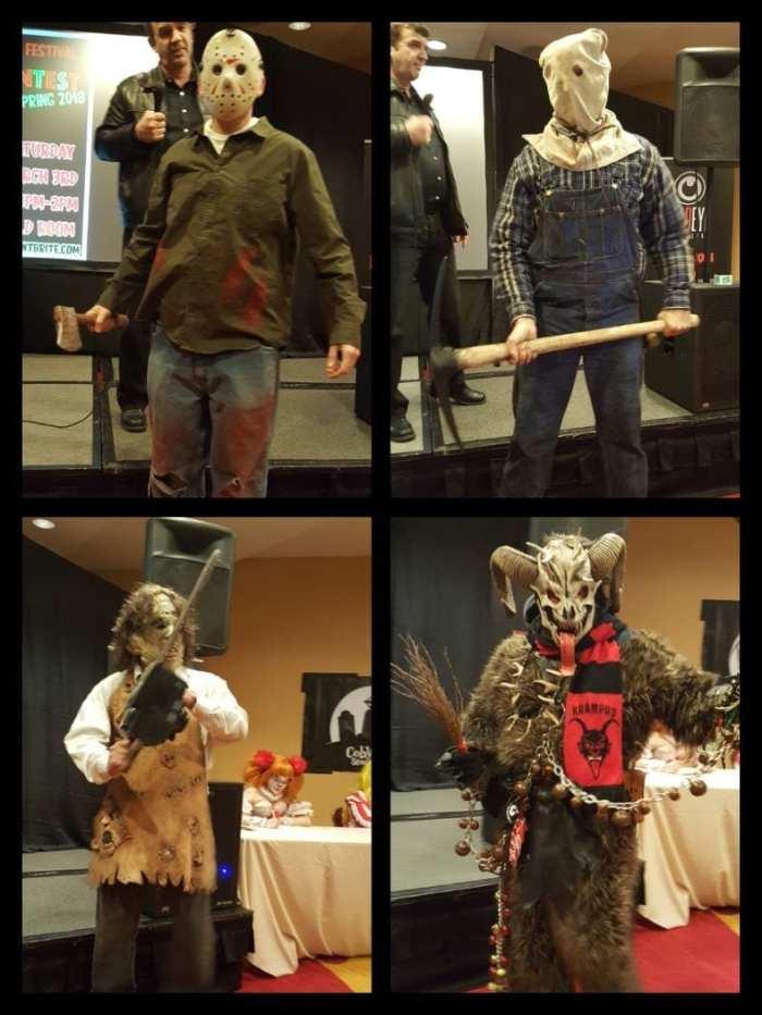 NJ Horror Con, Michael Myers, Jason Voorhees, Leatherface, Krampus