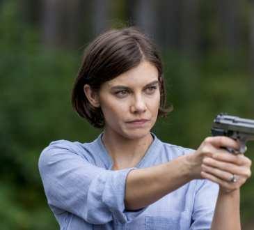Lauren Cohan as Maggie Greene - The Walking Dead _ Season 8, Episode 12 -