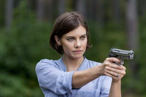 Lauren Cohan as Maggie Greene - The Walking Dead _ Season 8, Episode 12 -