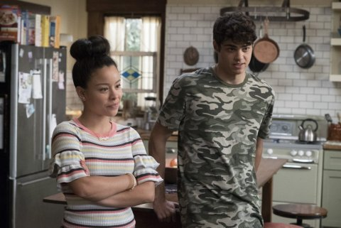 THE FOSTERS - ÒWelcome to the JunglerÓ - Callie is torn with turning over a new leaf or supporting a cause that means a lot to her, while Jude and Taylor begin making gaming videos that earn them unwanted notoriety. Stef makes major headway in her case. This episode of ÒThe FostersÓ airs on Tuesday, August 15 (8:00 - 9:01 p.m. EDT) on Freeform. CIERRA RAMIREZ, NOAH CENTINEO