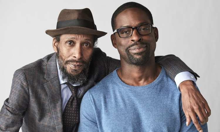 THIS IS US -- Season: 2 -- Pictured: (l-r) Ron Cephas Jones as William, Sterling K Brown as Randall --