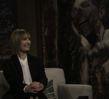 Executive Producer Gale Anne Hurd - Talking Dead _ Season 6, Episode 7 - Photo Credit: Jordin Althaus/AMC