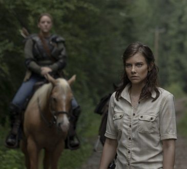 Lauren Cohan as Maggie Rhee, Kerry Cahill as Dianne - The Walking Dead _ Season 9, Episode 5 -