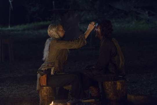 Norman Reedus as Daryl Dixon, Melissa McBride as Carol Peletier- The Walking Dead _ Season 9, Episode 7 -
