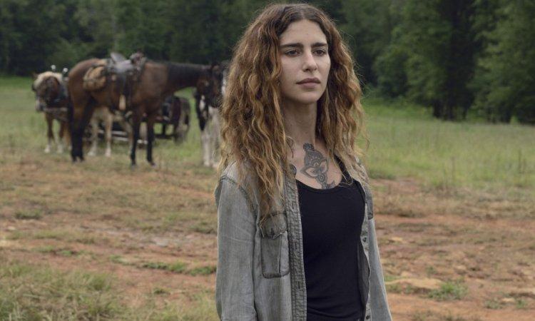 Nadia Hilker as Magna- The Walking Dead _ Season 9, Episode 7 - P