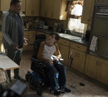 """SPEECHLESS - """"F-O-- FOLLOW T-H-R-- THROUGH"""" The ABC Television Network. (ABC/Richard Cartwright) CEDRIC YARBROUGH, MICAH FOWLER"""