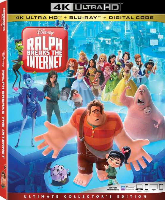 Ralph Breaks the Internet' Blu-Ray Bonus Features Reveal