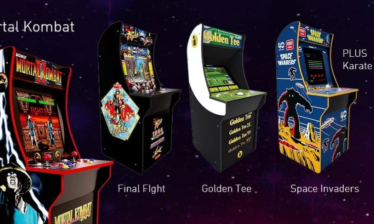 Arcade1Up's Website Teases New 2019 Releases, Full CES