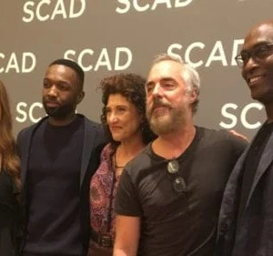 Madison Lintz, Jamie Hector, Amy Aquino, Titus Welliver and Lance Reddick of Bosch at SCAD aTVfest 2019 photo credit: Tracey Phillipps