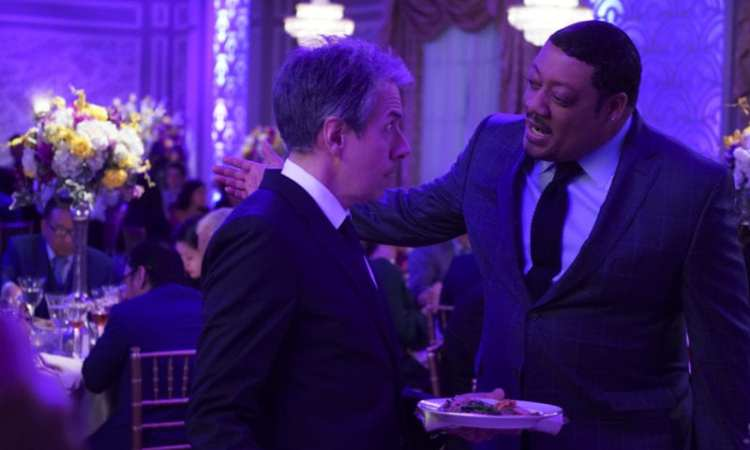 """SPEECHLESS - """"S-E-- SEOUL B-R--BROTHERS"""" The ABC Television Network. (ABC/Richard Cartwright) JOHN ROSS BOWIE, CEDRIC YARBROUGH"""